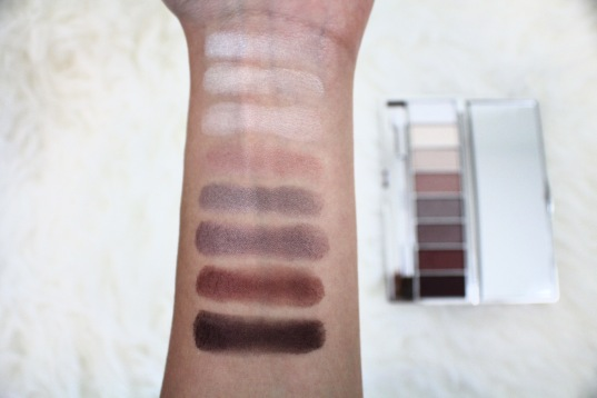 clinique neutral eyeshadow swatches