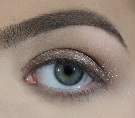 Daytime Glam Eye Look