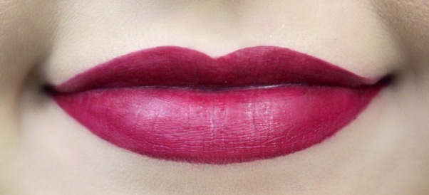 NYX soft matte lip cream copenhagen swatch