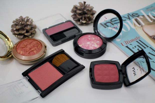 5 drugstore blushes