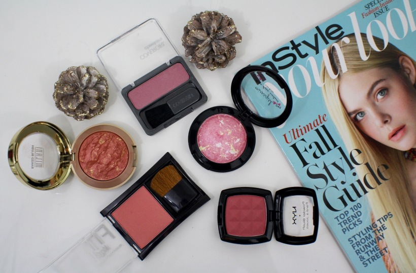 5 affordable blushes