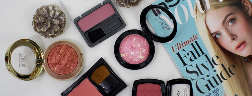 5 affordable blushes