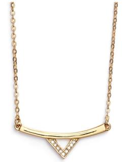 v bar necklace