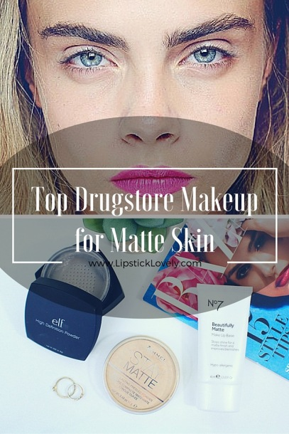 matte drugstore makeup