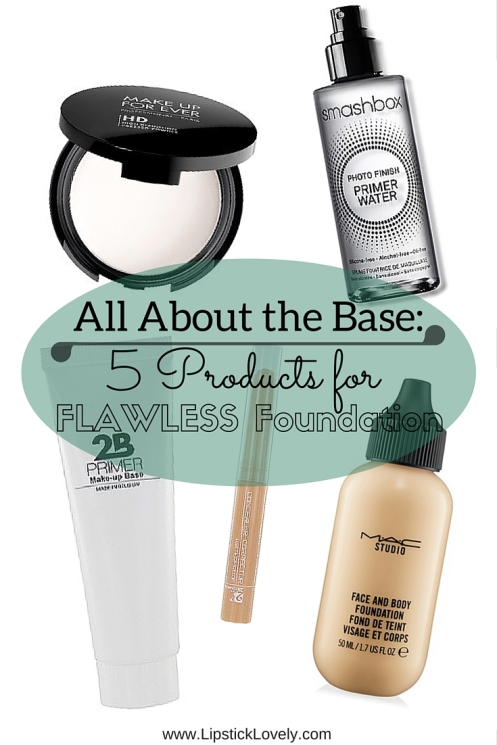 All About the Base_5 Products for Flawless Foundation